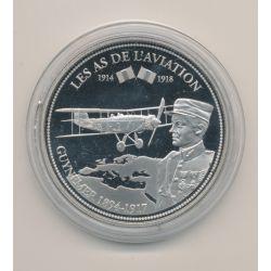 Médaille - 1ere Guerre mondiale - Les as de l'aviation