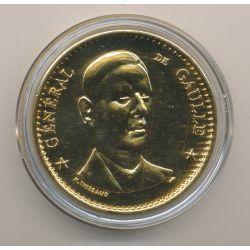 Médaille - Général De Gaulle - bronze