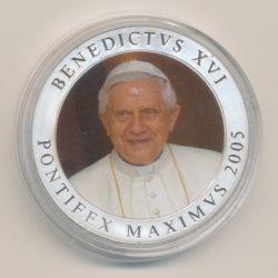 Médaille - Vatican - Benoit XVI - 2005 - couleur