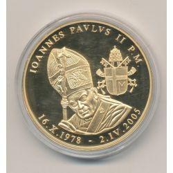 Médaille - Vatican - Jean Paul II - 1978 - 2005 - bronze
