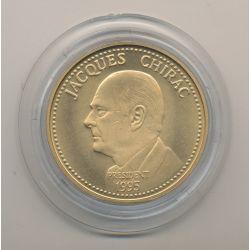 Médaille - Jacques Chirac - 7 mai 1995 - bronze