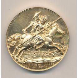 Médaille - Bataille de Lutzen - 1813 - refrappe - Collection Napoléon Empereur - bronze