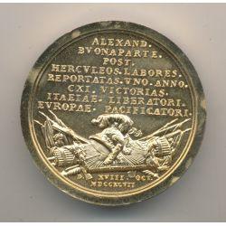 Médaille - Alexandre Bonaparte Victoires - refrappe - Collection Napoléon Empereur - bronze
