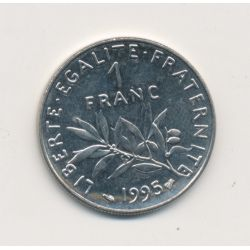 1 Franc Semeuse - 1995 - nickel
