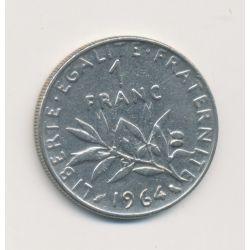 1 Franc Semeuse - 1964 - nickel