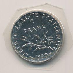 1 Franc Semeuse - 1999 - nickel