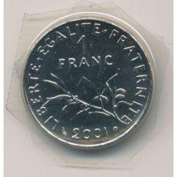 1 Franc Semeuse - 2001 - nickel