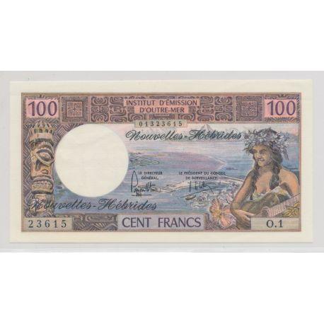 Billet - 100 Francs - Nouvelles Hebrides - SPL