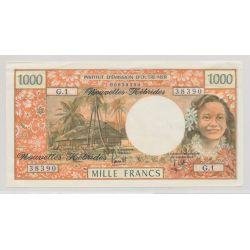 Billet - 1000 Francs - Nouvelles Hebrides - SPL