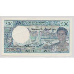 Billet - 500 Francs - Nouvelles Hebrides - SUP