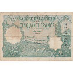 Algérie - 50 Francs - 29.04.1936 - TB/TTB