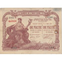 Billet - 1 Piastre - 1909-21 - Indochine