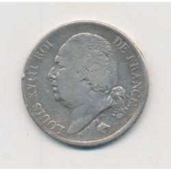 Louis XVIII - 2 Francs - 1818 H La Rochelle