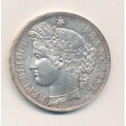 5 Francs Cérès - 1850 BB Strasbourg - 2e République