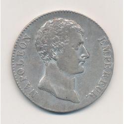 5 Francs Napoléon empereur - AN 12 I limoges
