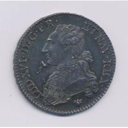 Louis XVI - 1/2 écu aux lauriers - 1783 H La Rochelle