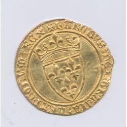 Charles VII - Ecu d'or à la couronne - La Rochelle