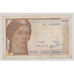 300 Francs cérès - 1939 - Alphabet O