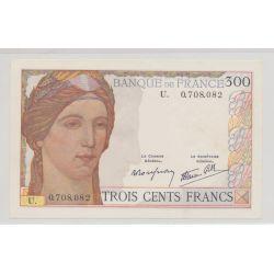300 Francs cérès - 1939 - Alphabet U