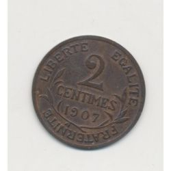 2 centimes Dupuis - 1907