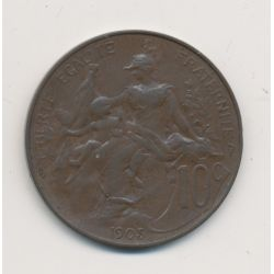 10 centimes Dupuis - 1905
