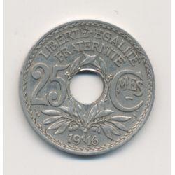 25 centimes Lindauer - 1916 souligné