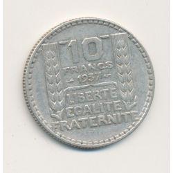 10 Francs Turin - 1937