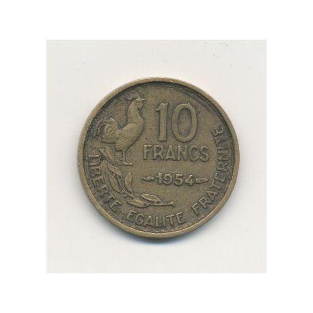 10 Francs Guiraud - 1954