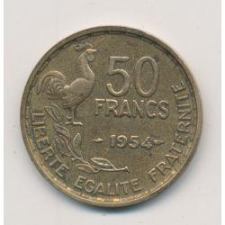 50 Francs Guiraud - 1954