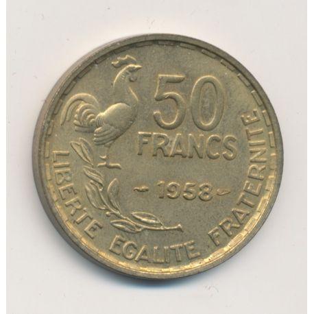 50 Francs Guiraud - 1958