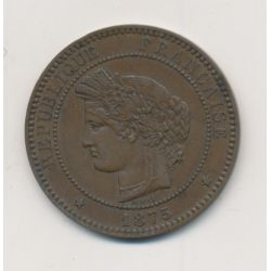 10 centimes Ceres - 1875 A Paris
