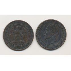 Boite de Forcat - 10 Centimes 1861