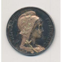 10 Centimes Dupuis - 1898 - argenté et doré