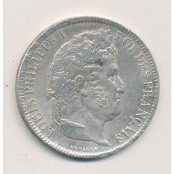 5 Francs Louis philippe I - 1831 Q Perpignan - Tranche en creux