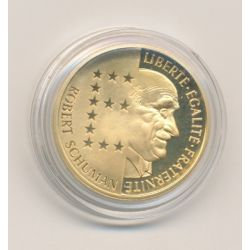 10 Francs Or - 1986 - Schuman
