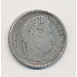 Louis philippe I - 2 Francs - 1832 D Lyon - avec gravure pipe