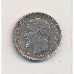 Napoléon III Tête nue - 1/2 Franc - 1862 A Paris