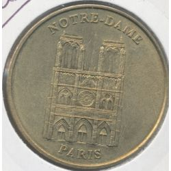 Dept7504 - Notre-dame de Paris N°1 - 1999 - Face simple - Paris