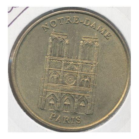 Dept7504 - Notre-dame de Paris - façade - 1998