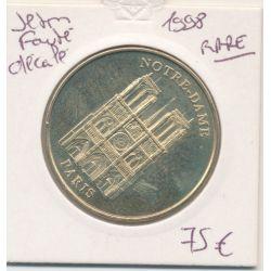 Dept7504 - Notre-dame de Paris - façade - fauté décalé - 1998