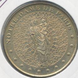 Dept7504 - N-Dame de Paris - vierge à l'enfant - 2001