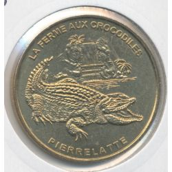 Dept26 - Ferme aux crocodiles N°1 - crocodile du nil - 2004 B