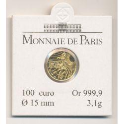 100€ Semeuse 2008