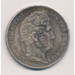 5 Francs Louis philippe I - 1846 A Paris - SUP