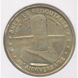Dept50 - Cité de la mer N°5 - 2007 - 40e anniversaire