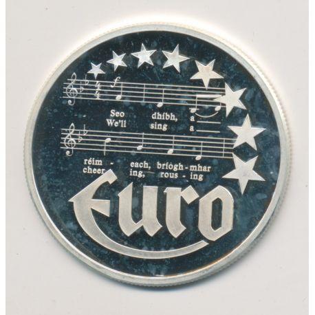 10 Euro Europa - 1997 - Irlande - Billet 20 Pounds - argent