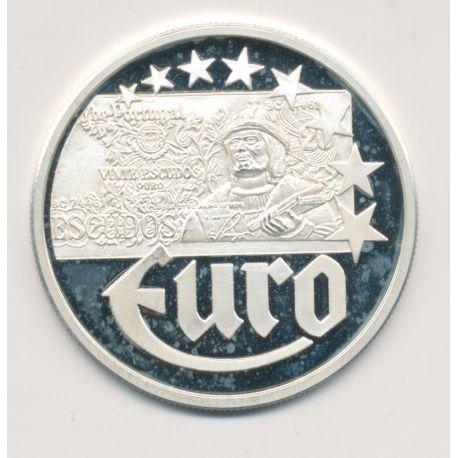 10 Euro Europa - 1997 - Portugal - Billet 20 escudos - argent