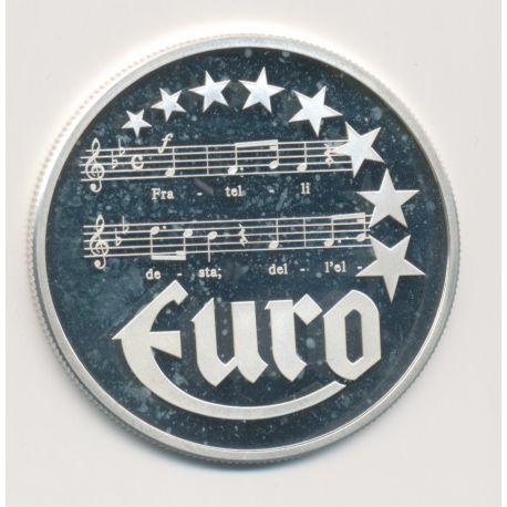 10 Euro Europa - 1997 - Italie - partition musique - argent