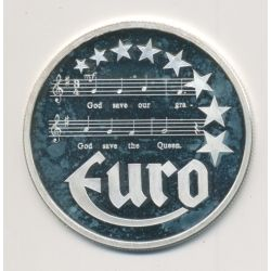 10 Euro Europa - 1997 - Angleterre - Partition musique - argent