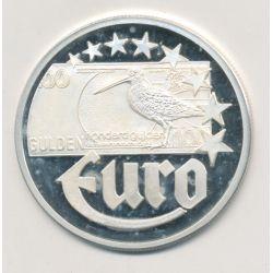 10 Euro Europa - 1997 - Pays-Bas - Billet 100 gulden - argent